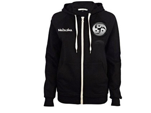 Club Zip Hoodie with personalised name