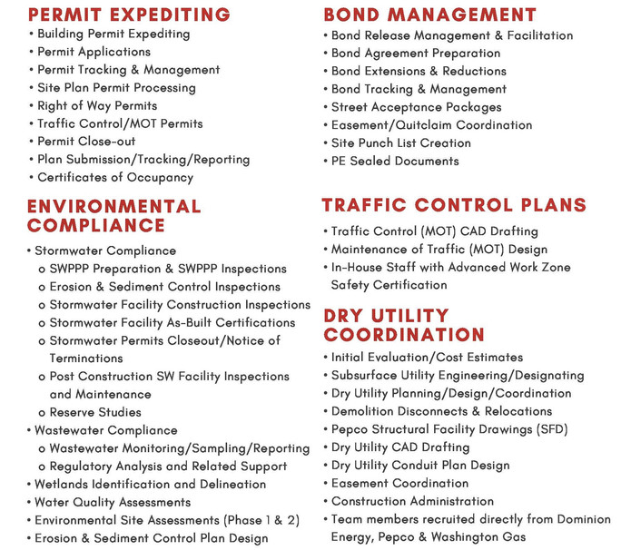 We are Now Offering Traffic Control (MOT) Plans in DC, VA & MD!
