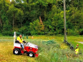 Our New Ventrac Machine Makes Pond Maintenance Easier!