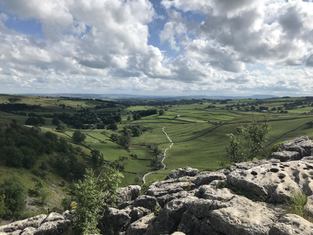 Visiting a small part of the Yorkshire Dales: Part 1 - Settle; Ingleborough and Malham