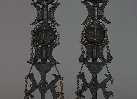Bronze Edan Ancestral Figures