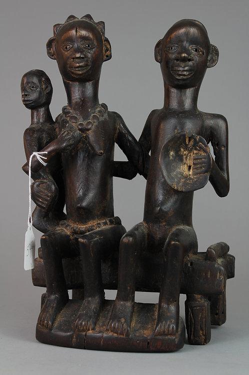 Ancestral Family, Wood Carved Figures