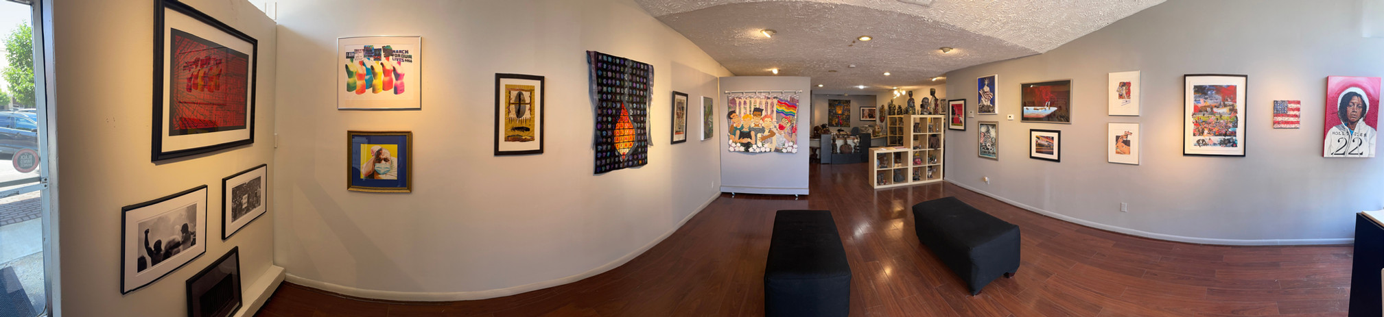 Panoramic Image Of Current Show