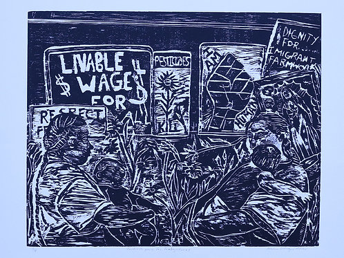 Justicia para las Trabajadoras-Justice for the women workers