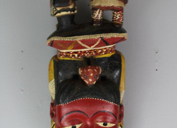 Possible Guro Tribe Mask. Guro, Ivory Coast