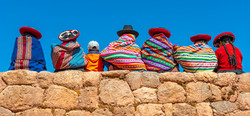 Panoramic photograph of Quechua indigeno
