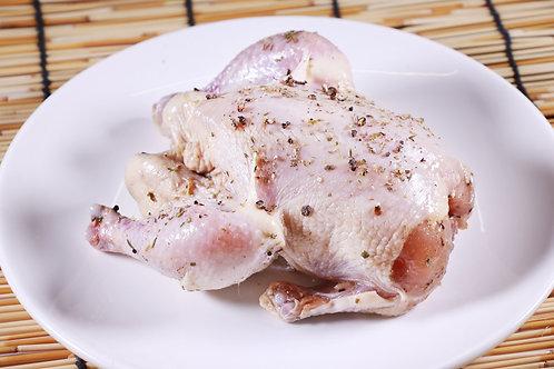 WSB33 原隻嫩法國春雞(未醃可配搭銀杏士多各種方便包)  約700g