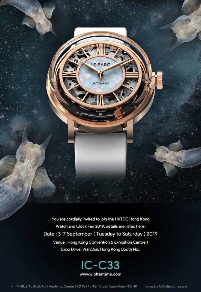 HKTDC Hong Kong Watch and Clock Fair 2019