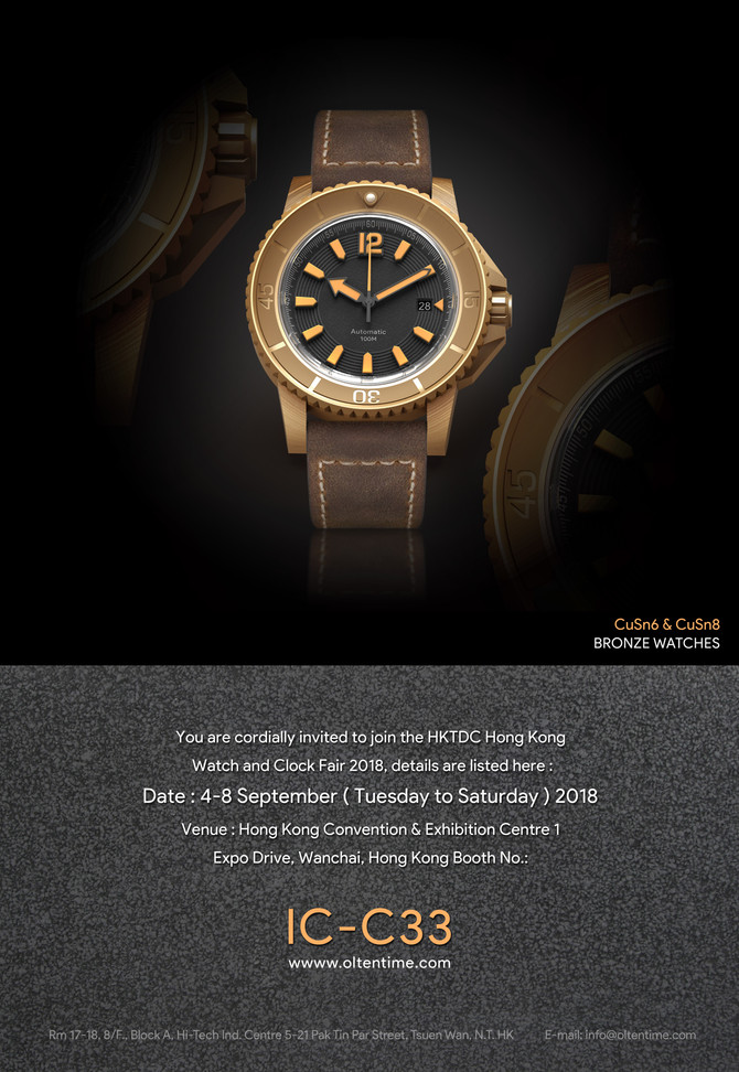 HKTDC Hong Kong Watch and Clock Fair 2018