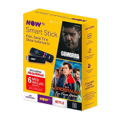 NOW TV Smart Stick con i primi 6 mesi a scelta tra Cinema oppure Serie TV e Intr