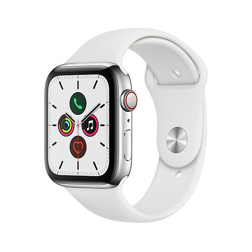 APPLE Watch Series 5 GPS + Cellular 44 mm in acciaio inossidabile
