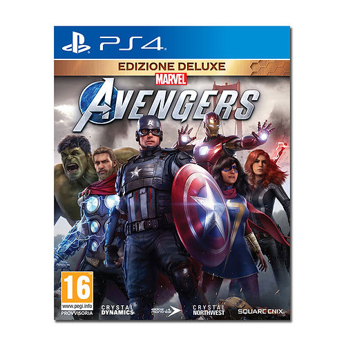 MARVEL'S AVENGERS: DELUXE - PS4