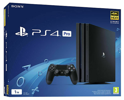 SONY Playstation 4 PS4 console 1TB PRO