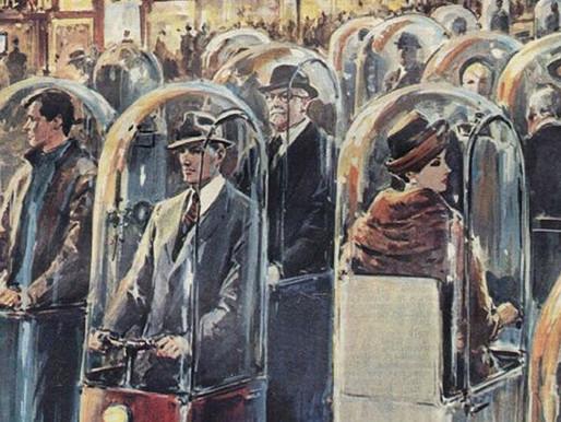 La 'Singoletta', il disegno di Walter Molino del 1962 che sembra una visione premonitrice