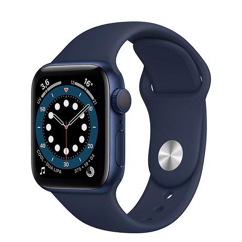 Apple Watch serie 6 cassa in alluminio con Cinturino Sport