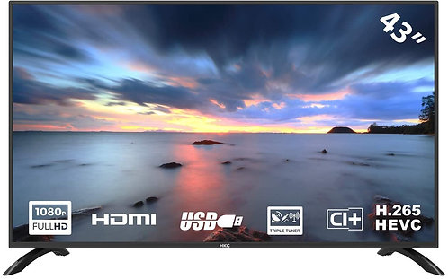 HKC TV LED (43 pollici) (Full HD, Triple Tuner, CI +