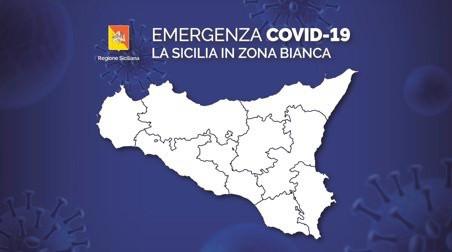 Da domani la Sicilia sarà in zona bianca
