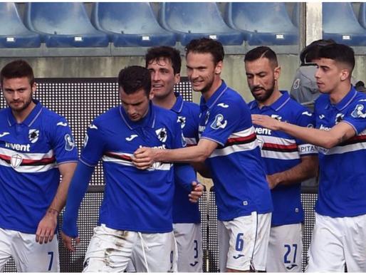 Sampdoria, tre nuovi calciatori casi positivi al Covid e un positivo di ritorno
