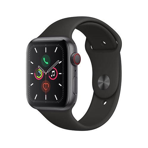 Apple Watch Series 5 GPS+Cellular 44mm in alluminio grigio siderale - Sport Nero