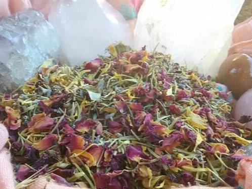 Organic Herbal Blend: Yoni Steam, Facial Steam, Tea Bath & Yoni Egg Soak