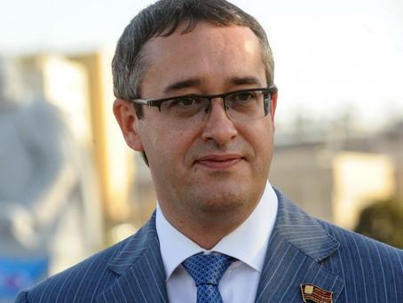Председатель Московской городской думы Шапошников Алексей Валерьевич поздравил участников.