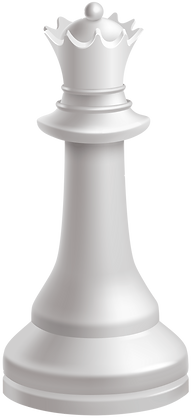 Queen_White_Chess_Piece_PNG_Clip_Art-275