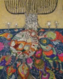 Raízes do Inconsciente III - Medalha de Ouro da 6ª Exposição do museu Bunkyo