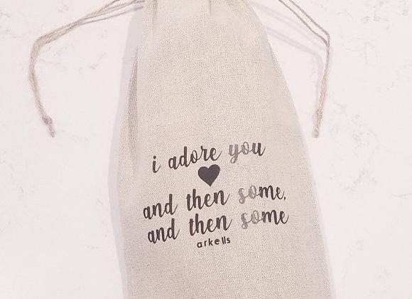 Arkells- I Adore You Wine Bag