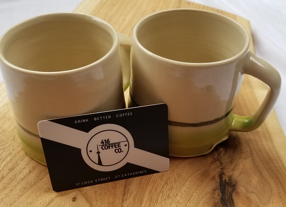 Kayla Marie Mugs + $30 416 Coffee Gift Card