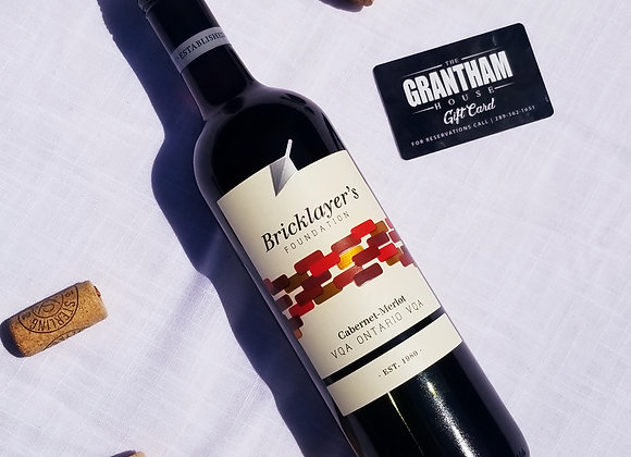 $25 Grantham House Gift Card + Wine