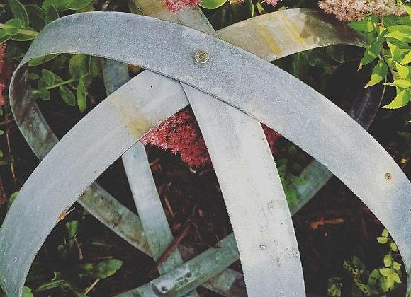 Barrel Ring Garden Orbs