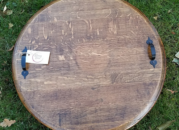 Wine Barrel Trays and Lazy Susans