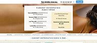 ostéopathe paris 14 site internet