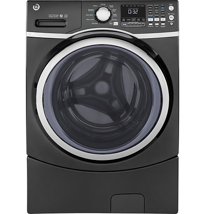 GE ENERGY STAR 4.5 DOE Cu. Ft. Capacity Frontload Washer with steam