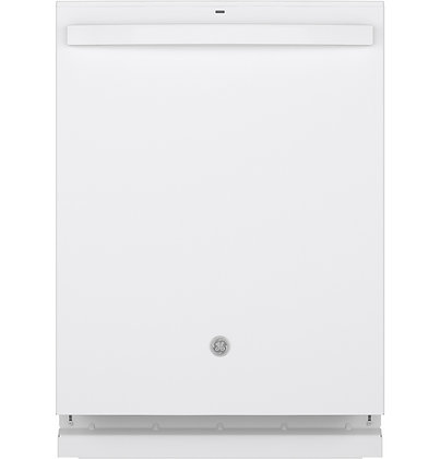 GE Top Control with Stainless Steel Interior Dishwasher