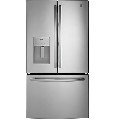 GE ENERGY STAR 25.6 Cu. Ft. French-Door Refrigerator
