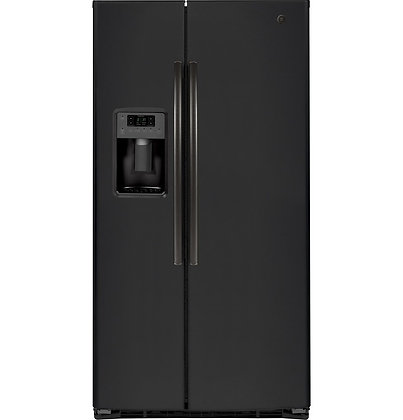 GE ENERGY STAR 25.3 Cu. Ft. Side-By-Side Refrigerator