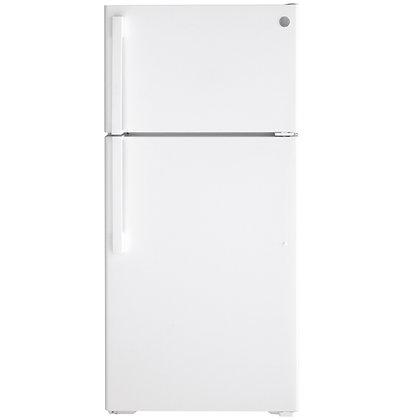 GE ENERGY STAR 15.6 Cu. Ft. Top-Freezer Refrigerator