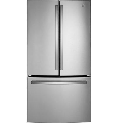 GE ENERGY STAR 27.0 Cu. Ft. Fingerprint Resistant French-Door Refrigerator