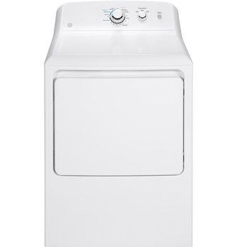 GE 6.2 cu. ft. Capacity Aluminized Alloy Drum Electric Top Load Matching Dryer