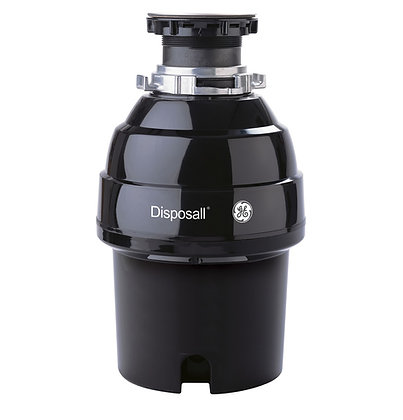 GE 3/4 HP Continuous Feed Garbage Disposer - Non-Corded