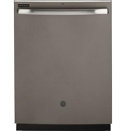 GE Top Control with Stainless Steel Interior Door Dishwasher