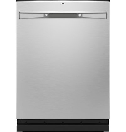GE Fingerprint Resistant Top Control with Stainless Steel Interior Dishwasher