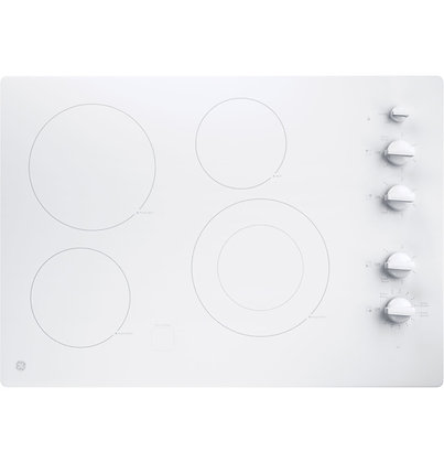"""GE 30"""" Built-In Knob Control Electric Cooktop"""