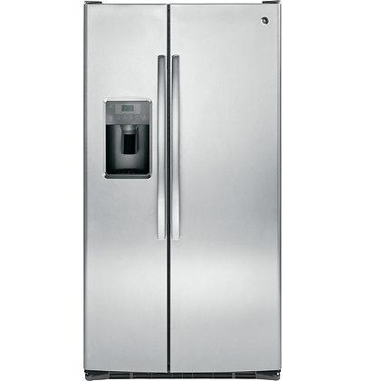 GE ENERGY STAR 25.3 Cu. Ft. Side-By-Side Refrigerator