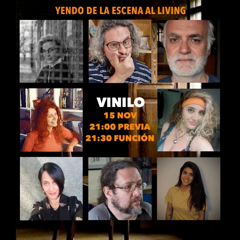 Yendo de la escena al living | Vinilo | 15NOV