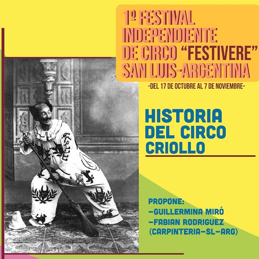 Historia del Circo Criollo   Taller Intensivo   21OCT