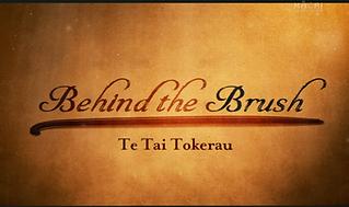 Behid The Brush