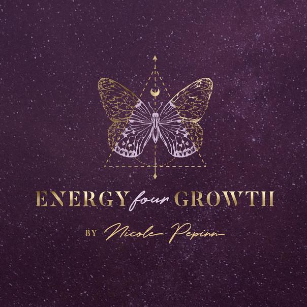 Gold Spiritual Logo Design