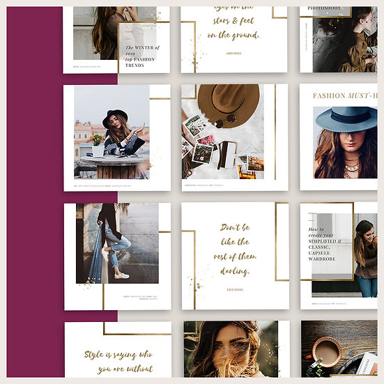 THE GRID | Instagram Puzzle | Canva